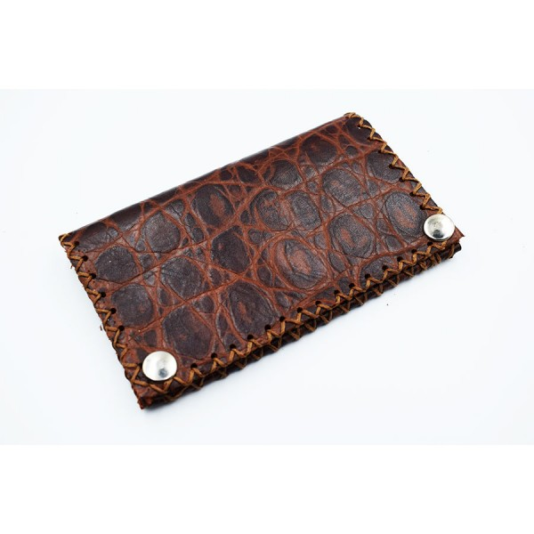 Brown tobacocase leather