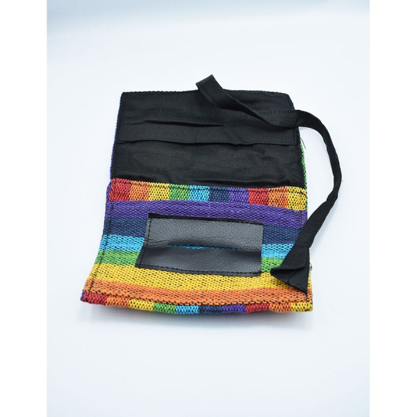 Rainbow  tobacocase with cord