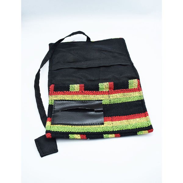 Rasta tobacocase with cord