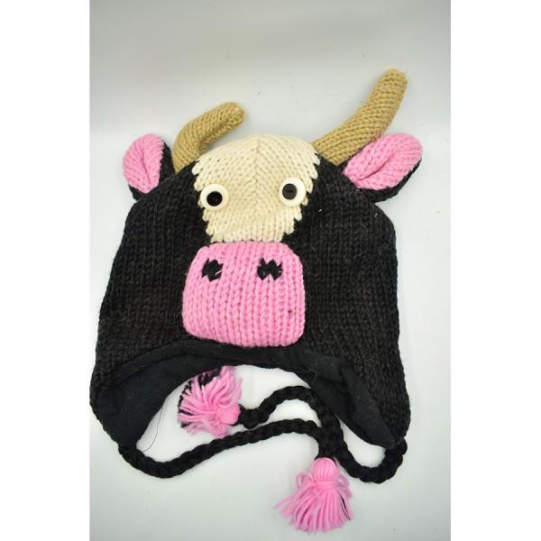 Cow  Woollen Hat