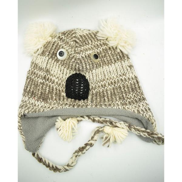 Koala   Woollen Hat