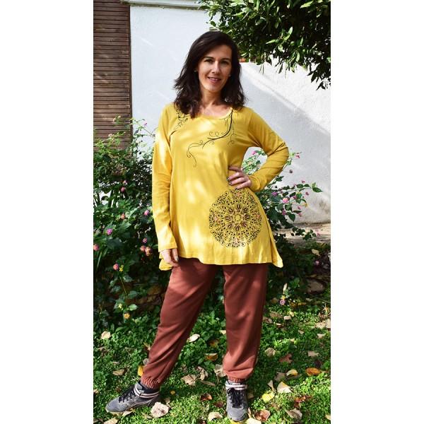 blouse Yellow cotton