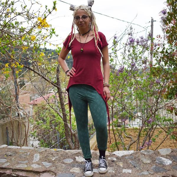 Leggings Green Dark Straight