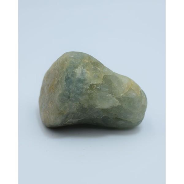 Crystal Aqua Marina green pebble.