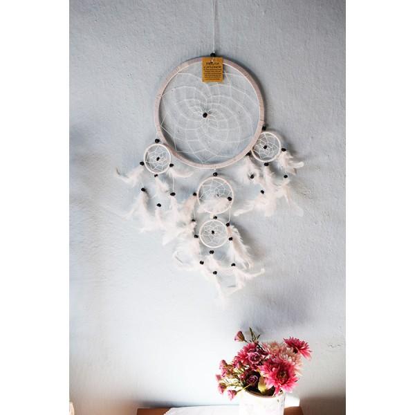 Dreamcatcher white  4 size