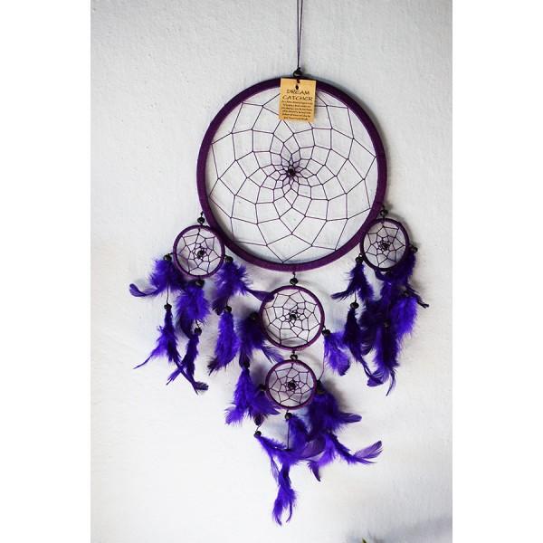Dreamcatcher purple 4 size