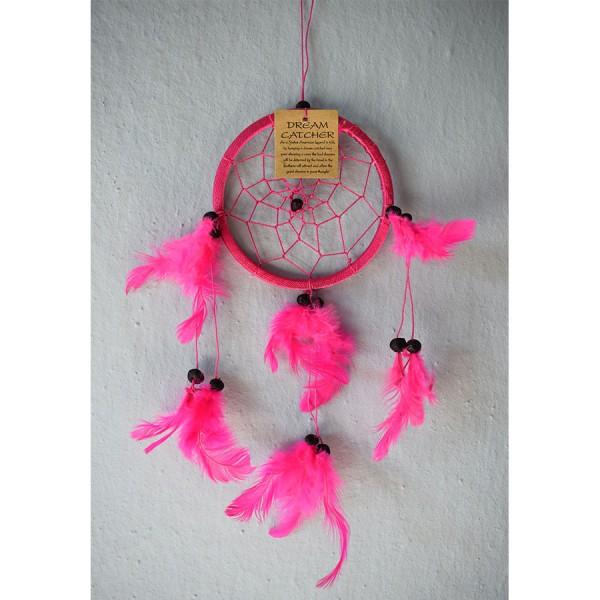 Dreamcatcher pink 2 size
