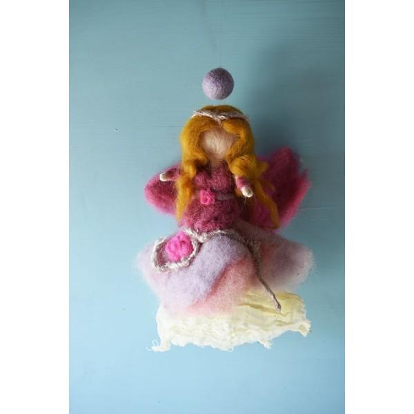 Purple Waldorf  Fairy