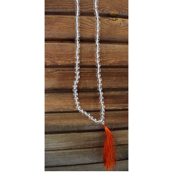 Necklace Quartz Malas 8mm