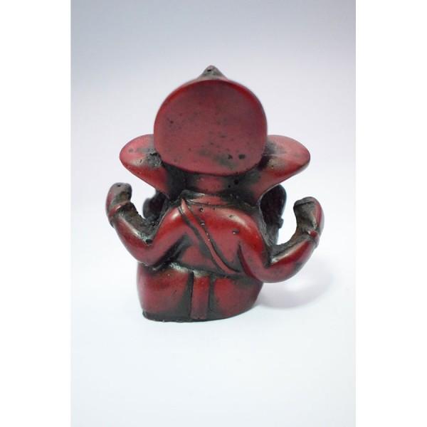 Miniatyre Ganesh Red Seated Νepal