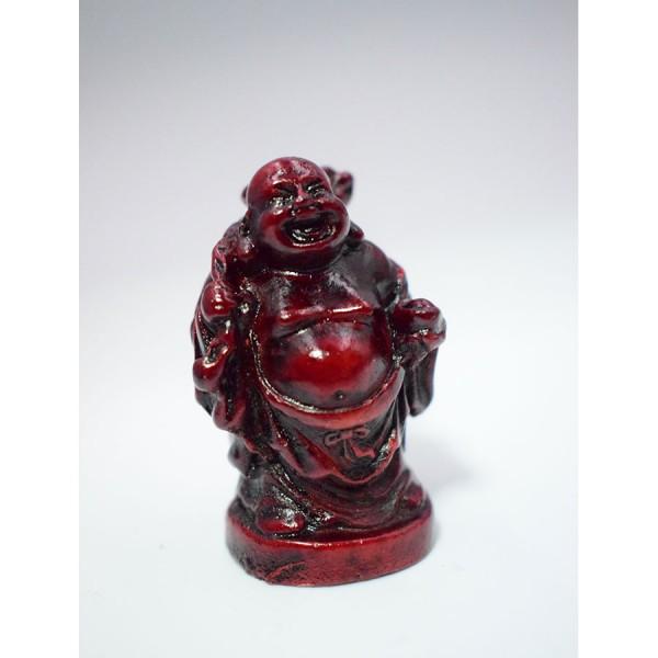 Miniature Smilling Buddha upright