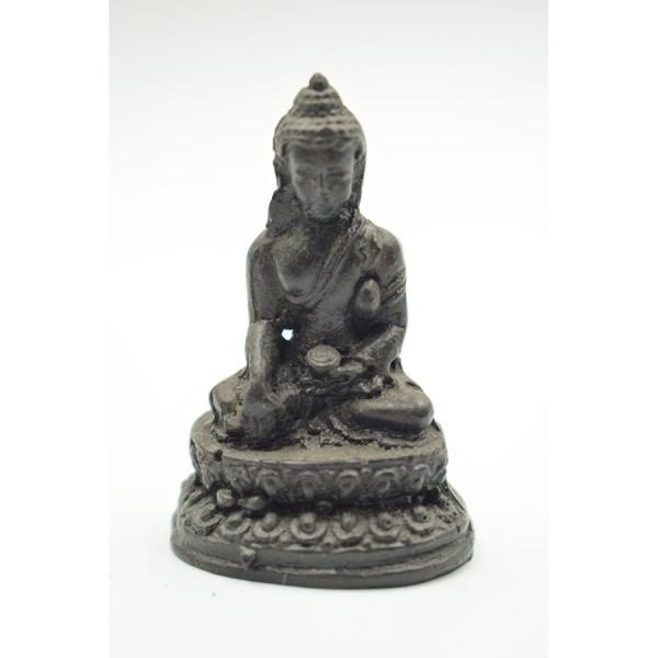 Black Buddha in Miniature Meditation