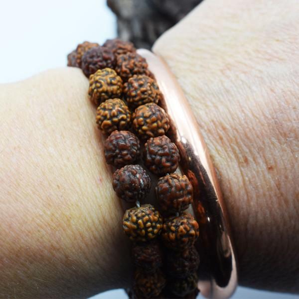 Thin copper bracelet