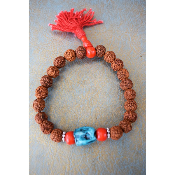 Rudragsa bracelet with turquoise.