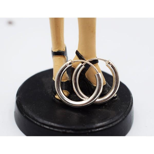 Rings Earrings Silver Sixth  size.