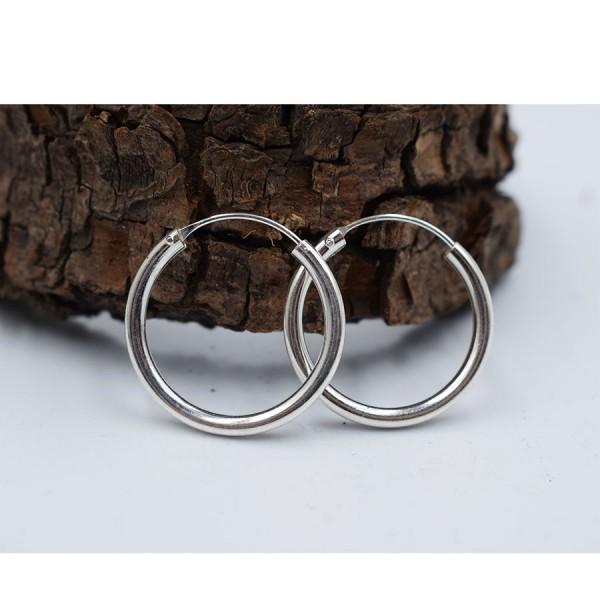 Rings Earrings Silver fifth  size.