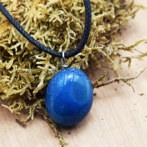 . Νeck pendal  Agate blue