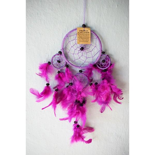Dreamcatcher purple 2 size